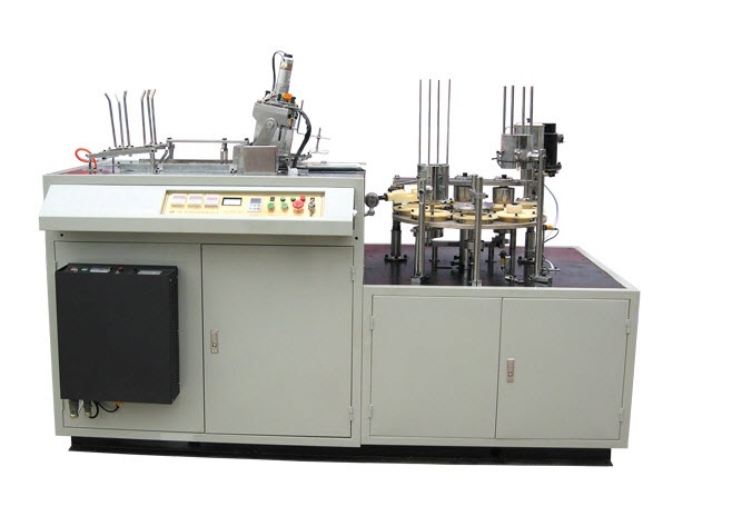 PS-S Automatic Paper Sleeve Forming and Wrapping Machine