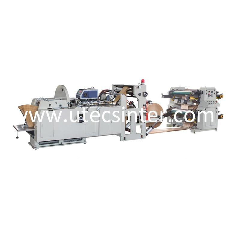 3d4d63276 HD-400 Maquina Automatica de Bolsa de Papel Para Alimento