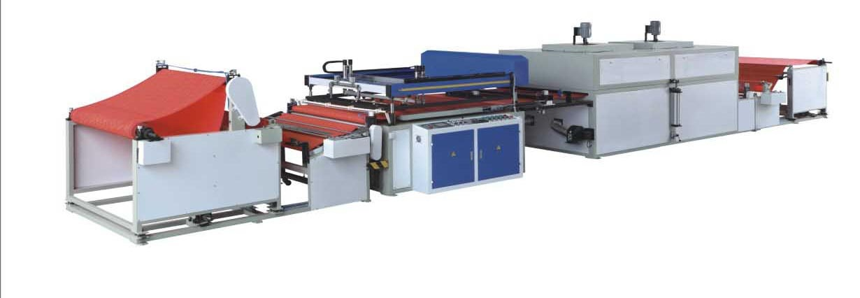 UTFB Automatic Roll to Roll Nonwoven Screen Printing Machine